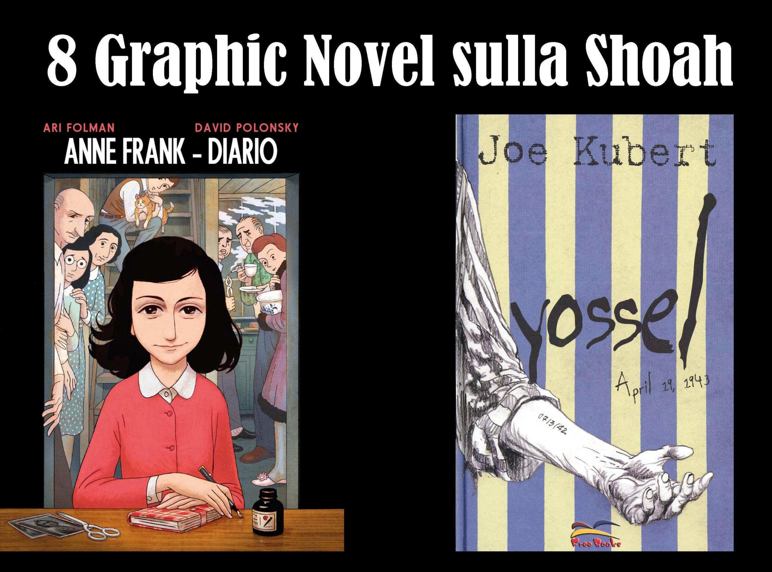 Vi consigliamo otto Graphic Novel sulla Shoah