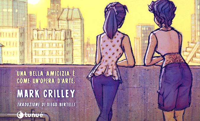 La mia ultima estate con Cass: la Graphic Novel edita da Tunué