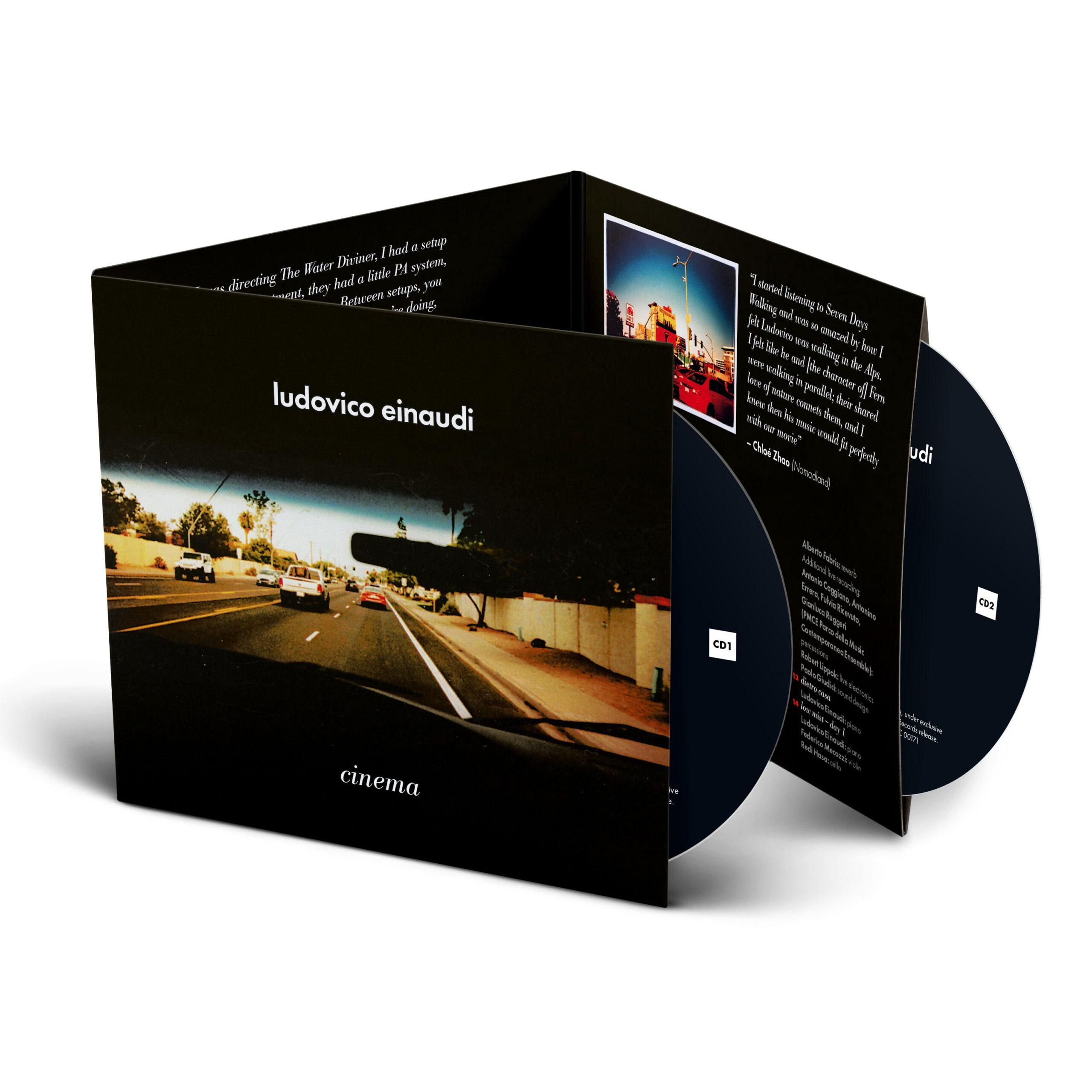 Cinema: L'album di Ludovico Einaudi