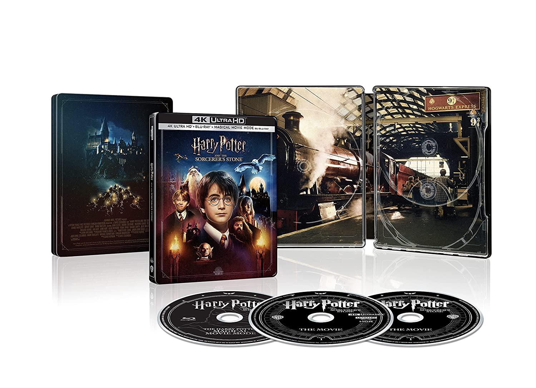 Harry Potter and the Philosopher's stone: disponibile in Home Video la nuova edizione in Steelbook 4k Ultra HD