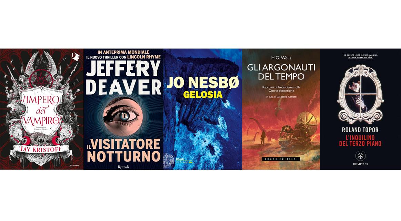 Settembre 2021: i romanzi in uscita