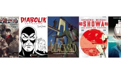Ottobre2021, i fumetti in uscita: Blacksad, Diabolik, Dylan Dog e molto altro…