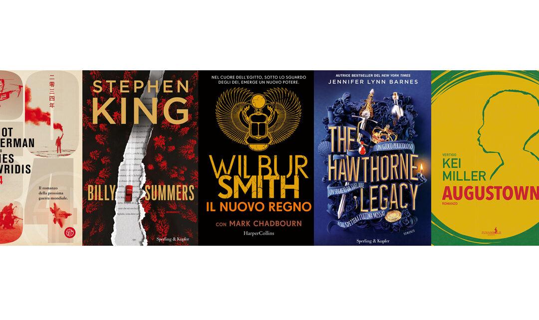 Ottobre 2021: Da Stephen King a Sophie Kinsella, i romanzi i uscita nel mese di Halloween